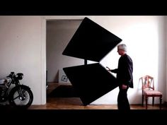 Evolution Door - Kinetic art object based on rotating squares - YouTube