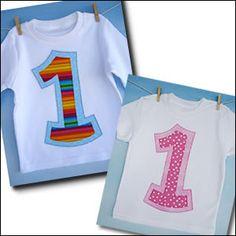 Number Birthday Applique Patterns