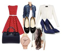 """""""dress"""" by yesica-cruz on Polyvore featuring Nixon, Dsquared2, BCBGMAXAZRIA, CHARLES & KEITH and Chanel"""