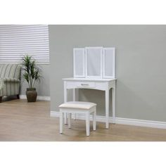 32-16-50. $150. Home Depot. MegaHome 1-Drawer 2-Piece Vanity Set in White-MH206-WH - The Home Depot