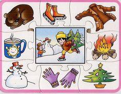 Lotus: sezóny roka Pozrite sa na mňa a naučíte sa English Activities, Teaching Activities, Educational Activities, Weather For Kids, Winter Kids, Teaching Weather, Seasons Activities, Printable Preschool Worksheets, Paper Cut Design