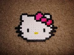 Hello Kitty Made out of Pyssla Beads