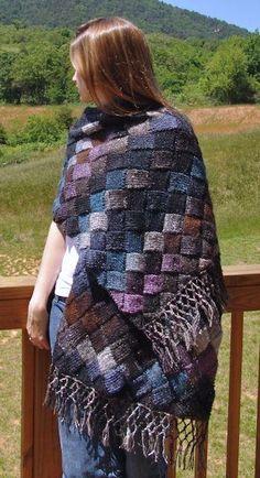 Crochet scarf fringe pattern libraries Ideas for 2019 Shawl Patterns, Crochet Stitches Patterns, Knitting Patterns, Tunisian Crochet, Crochet Shawl, Knit Crochet, Crochet Headband Pattern, Knitted Shawls, Crochet Crafts