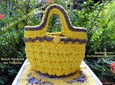 Penye İpten Örgü Çanta Modelleri 40 Needle And Thread, Mosaic Art, Straw Bag, Purses And Bags, Embroidery, Knitting, Blog, Crocheted Bags, Fashion