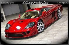 2003 Saleen S7 Coupe RARE Dark Red! 7.0L V8 Engine! ONLY 1.5K MILES! LOADED! WOW