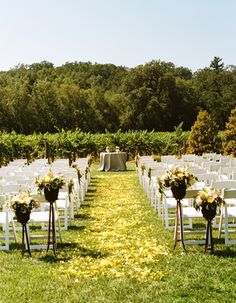 Sonoma Valley outdoor wedding reception site (Photo by Union Photography)