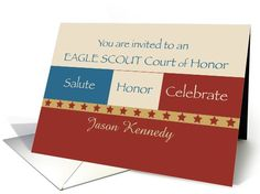 Invitation, Eagle Scout Court of Honor card (962399) by Sandra Rose Designs
