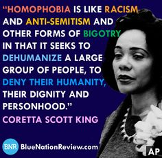 I totally agree with Coretta Scott King. Meaningful Quotes, Inspirational Quotes, Coretta Scott King, King Quotes, Words Of Wisdom Quotes, Anti Racism, Trump, Social Justice, Good People