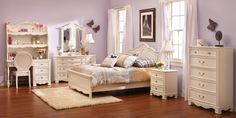 LOVE this bedroom set! Bedroom Expressions: Chloe Bedroom Group