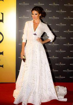 Andrea Verešová, dress: Jana Pištejová
