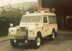 Land Rover Series 2A109 One Ton Hard Top Fire Service Conversion