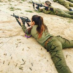 Such beauties serve in the army of Israel.