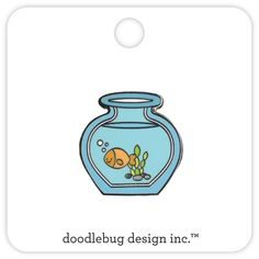 Goldie Gold Fish Collectible Pin Limited Edition by iluvdesign