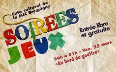 """Soirée Jeux """"Au bord du gouffre"""" - http://www.unidivers.fr/rennes/soiree-jeux-au-bord-du-gouffre/ -  -  concert, Nantes, Stereolux"""