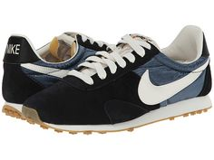 Nike Pre Montreal Racer Vintage Black/Dark Armory Blue/Sail/Sail - Zappos.com Free Shipping BOTH Ways