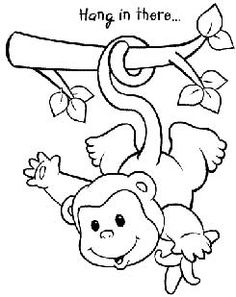 Monkey Coloring Pages At the Zoo Childrens Ministry Curriculum