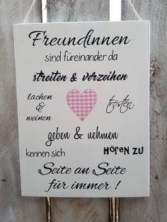 Holzschild Wunschbeschriftung Geschenk Tafel Holz Geburtstag Beste Freundin Home The Effective Pictures We Offer You About DIY Anniversary box A quality picture can tell you many things. Diy Gifts For Girlfriend, Diy Gifts For Dad, Diy Gifts For Friends, Easy Diy Gifts, Girlfriend Birthday, Birthday Gift Cards, Diy Birthday, Birthday Wishes, Home Wooden Signs