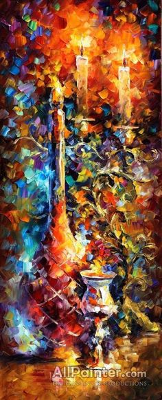 Leonid Afremov Old Wine oil painting reproductions for sale