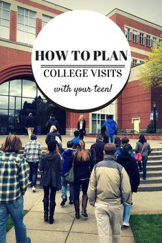 If you have a college-bound teen, a campus tour may be in your travel future. These tips on how to plan college visits will help you get the most out of your campus tours. college tour tips Financial Aid For College, College Planning, Scholarships For College, Education College, College Counseling, College Fund, School Counselor, College Students, College Hacks