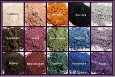 These are our amazing shimmer pigments, available as singles, in a set or in one of our amazing value collections single price US $10 CAD $12 www.youniqueprodu... www.facebook.com/... 100% natural, mineral-based pigment powders consisting of finely crushed minerals that bond to the skin offering long-lasting, sweat-proof coverage. Apply wet for a more dramatic impact of color, or apply dry for a blending of colors or for a softer look.