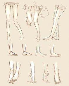 Manga Drawing Tips Drawing Legs, Feet Drawing, Body Drawing, Drawing Base, Anatomy Drawing, Anatomy Art, Manga Tutorial, Manga Drawing Tutorials, Drawing Techniques