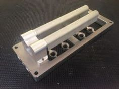 EFI Nozzle Injector Plate - Hidden Injector Plate for Birdcatcher and Bugcatcher Injectors on 6-71 8-71 10-71Blowers