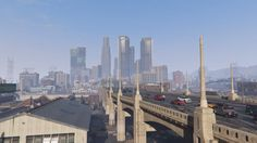 The City of Los Santos - City life and NPC montage #GrandTheftAutoV #GTAV #GTA5 #GrandTheftAuto #GTA #GTAOnline #GrandTheftAuto5 #PS4 #games