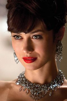 Olga Kurylenko MAGIC CITY and Untitled Terrence Malick Movie Interview. Olga Kurylenko plays the wife of a 1959 Miami hotel owner in Magic City. Magic City, Beautiful Eyes, Beautiful Women, Bond Girls, Actrices Hollywood, French Actress, Celebs, Celebrities, Mode Inspiration