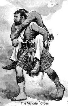 Private James Davis VC  Black Watch  India 18 April 1858