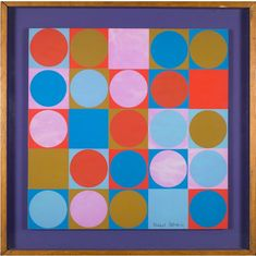 """Twentieth Century British Art by Michael Stokoe: """"Colour values: space weight and perspective, Screen Printing, Perspective, Modern Art, Mixed Media, Abstract Art, Sculptures, Space, Artist, Prints"""
