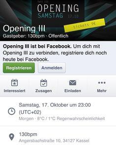 Ich freue mich auf Morgen  #Kassel #130bpm & Mijk van Dijk  #Techno #drmotte #praxxiz #opening