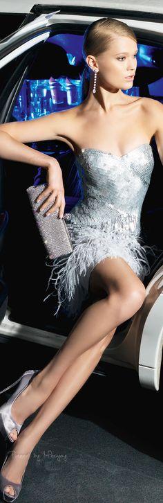 Rosa Clara Cocktail Dresses for 2014 Fashion Moda, High Fashion, Womens Fashion, Fashion Vestidos, Short Dresses, Prom Dresses, Bridesmaid Dress, Glamour, Look Chic