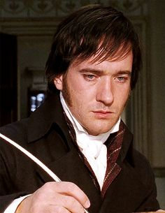 """I like very much the way Matthew brought humour to Mr. Darcy and he just brings a little edge of humour to him. Jane Austen, Matthew Macfadyen, Pride & Prejudice Movie, Little Dorrit, Mr Darcy, One Wave, English, Period Dramas, Perfect Man"