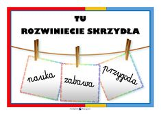 PLAKAT NA DRZWI KLASY powitanie Line Chart, Education, Poster, Onderwijs, Learning