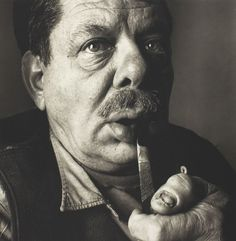 David Smith (American Abstract Expressionist sculptor  painter) by Irving Penn