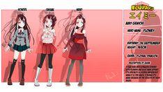 I finally finished Haname character sheet! My Hero Academia Costume, My Hero Academia Episodes, Hero Academia Characters, Pelo Anime, Anime Oc, Chica Anime Manga, Bakugou And Uraraka, Black Anime Characters, Hero Girl