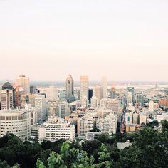 La vue du Mont-Royal on my Instagram : https://instagram.com/melicot/