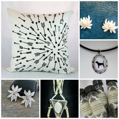 Etsy SPS Team promo5000 collage - a few items from our member's shop