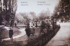 Grădina Cişmigiu din Bucureşti, 1900 (ca. Old Pictures, Romania, Railroad Tracks, Country, Outdoor, Memories, Times, Beautiful, Photos