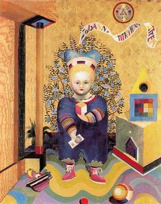 Itten, Johannes (1888-1967) - 1921-22 Children's Portraits (Kunsthaus Zurich, Switzerland)