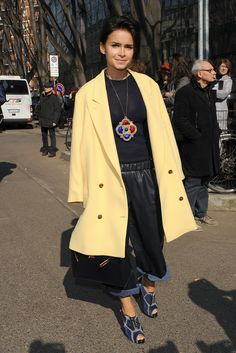 All Hail Miroslava Duma's Impeccable Street Style: Chances are, even if you don't know Miroslava Duma by name, you've seen the style star's face and her collection of enviable outfits at every Fashion Week.