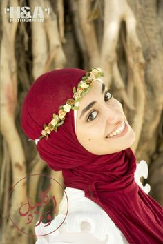 2019 year for girls- How to flower wear crown with hijab