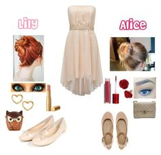 """""""Lily and Alice: Crush Test"""" by skyexxxx ❤ liked on Polyvore featuring Lola Cosmetics, Too Faced Cosmetics, Forever New, Marc by Marc Jacobs, Chanel, Accessorize and ASOS"""