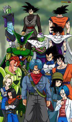 Dragon Ball Z - Dragon Ball Super - Trunks History by ZeroSuperSaiyajin3