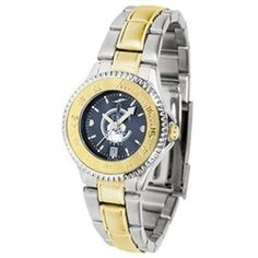 Citadel Bulldogs  Ladies Stainless Steel and Gold Tone Watch