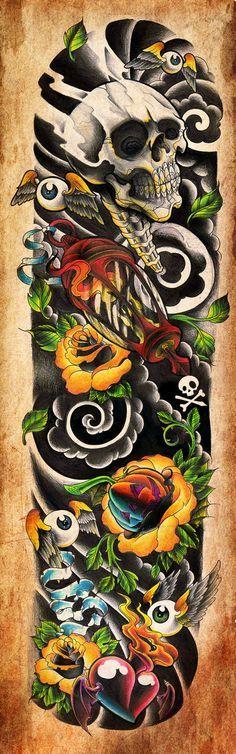 Commission - fullsleeve by WillemXSM.deviantart.com on @deviantART