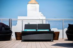 Rooftop at Hotel Croydon, Miami Beach...where you can shop @WanderlistaMiami. 3720 Collins Ave, at 38th St.