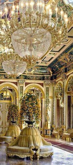 Fabulous architect's computer (CGI) design based on the baroque palaces of old. Design by Veltik