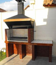 Brick Grill, Outdoor Grill Station, Barbecue Design, Outdoor Kitchen Patio, Insulation Materials, Diy Garden Decor, Restaurant Bar, Home Interior Design, House Plans