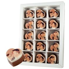 Chocolade hartjes!